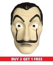 *Authentic*La Casa De Papel Money Heist Mask Salvador Dali Mascara Masque USA