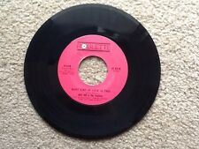45RPM ORIGINAL RECORDING AND LABEL:WHAT KIND OF LOVE IS THIS/WING DING-JOEY DEE