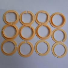 11 1/2 LIGNE Size Plastic Watch Movement Case Ring Spacer Set of 12pcs