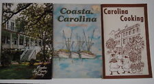 3 Carolina Cookbooks, Coastal Cooking, Low Country Cookery