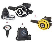 Scubapro S 600 MK 25EVO + Octopus R 195 + Finimeter + Inflatorschlauch + Tasche