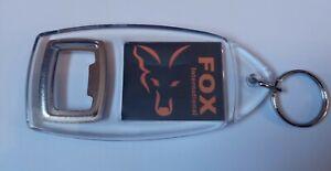 FOX INTERNATIONAL CARP FISHING BOTTLE OPENER KEYRING camolite bivvy alarms mxr