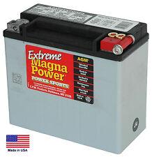 Bateria Alto Rendimiento AGM Magna Power ETX20L Para Harley-Davidson®