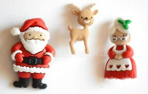 Mr. & Mrs. Claus / Jesse James Dress It Up Holiday Collection / Santa & Reindeer