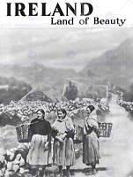 TRAVEL IRELAND LAND BEAUTY BLACK WHITE RURAL 30X40 FINE ART PRINT POSTER BB9751