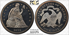 1873 Seated Liberty Dollar Proof Cameo PCGS PR64CAM
