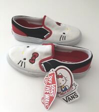 Vans Girls Hello Kitty 40th Anniversary Slip On Shoes Size US 1 - New with Tags