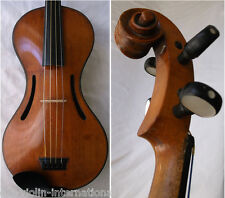 OLD 19th CENTURY FRENCH MASTER VIOLIN CHANOT - video- ANTIQUE バイオリン скрипка 831