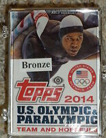 2014 Topps Olympic & Paralympic Team Hopefuls BRONZE set of 100 Cards