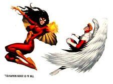 Marvel Tattoo 8-10, Temporary Tattoo, Catwoman
