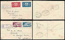 IRELAND 1937 + 1939 FIRST DAY COVERS REGISTERED