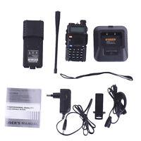 Baofeng UV-5R V2+ Dual-Band 136-174/400-520 MHz Ham Radio Two-Way FM Radio U/VHF