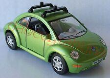 Kinsmart - Volkswagen New Beetle - Die-Cast - Scale 1:32 - Rubber Tires - PBR