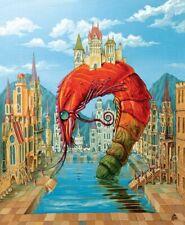 "Wooden puzzles ""Red Shrimp"" 165 pieces"