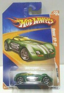 2009 Hot Wheels Track Stars Dodge XP-07 Green 59