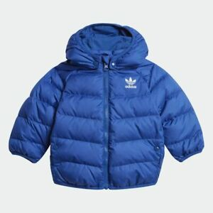 adidas Originals baby/infant blue padded coat. Infants coat. Various sizes!