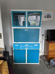 Vintage retro kitchen cabinet cupboard