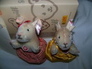 Steiff country mouse and city mouse.