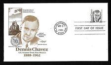 #2186 35c Dennis Chavez - Artmaster FDC