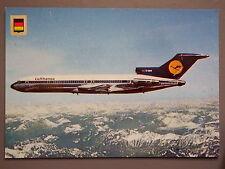 R&L Postard: Lufthansa Boeing 727, Fisa
