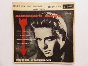 EDDIE COCHRAN ORIG 1960 UK EP  EDDIE'S HITS  LONDON RE-G 1262