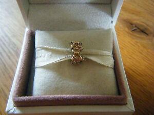"""Retired - Pandora Charm """"Blütentraum""""  14 K Gelbgold - 750378 -"""