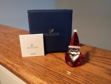 Authentic Swarovski Christmas Santa Claus Crystal Figurine 5059033 New In Box