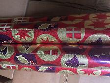 Al por mayor 36 X Rollos Rollos De Papel De Envoltura De Navidad JOBLOT Nuevo