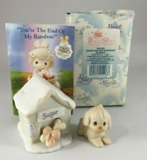 Precious Moments Sugar Town Sugar And Her Doghouse Figurine 533165 Trumpet New