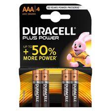 Pilas Duracell especial duracion 4 unidades de 1,5V LR6 AAA mando Tv alcalinas