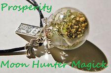 Prosperity Witch Ball Money Spell Pagan Charm Talisman Money Drawing Amulet