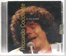 RICCARDO COCCIANTE RITRATTO LA SUA POESIA  CD F.C. SIGILLATO!!!
