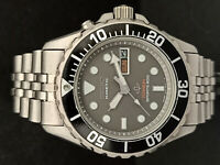 RARE SEIKO DIVER SPORTS 200 5M43-0B30 SKJ045 KINETIC AUTO QUARTZ MEN'S WATCH