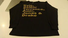 Raptors T Shirt 2014 Black XXL LS T Shirt Players Names Starting Line Up Drake