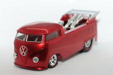 1:18 VW T1 Drag Bus Race Truck | candyred | Hot Wheels Classics | Modellauto PKW