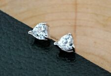 925 Sterling Silver earring CZ Cubic Zirconia clear crystal DLE10
