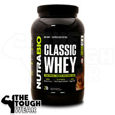 NUTRABIO CLASSIC WHEY PROTEIN 2Lbs - CHOCOLATE MILK SHAKE -100% WHEY CONCENTRATE