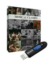 Public Domain Musical Classics 73 Titles on USB Drive Top Music Genre Old Movies