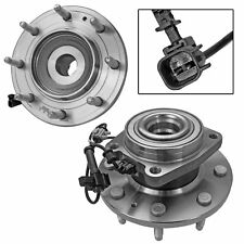 Pair/Set of 2 Wheel Hub and Bearing Assembly Front for Chevrolet GMC Sierra New