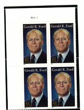 US  4199  Gerald R.Ford 41c - Plate Block of 4  MNH - 2007 - P11111  UL