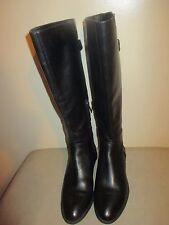 Sam Edelman Patton 2 Women  Black Leather Knee High Boot Size US 6 1/2 M