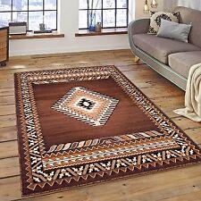 Rugs Area Rugs Carpets 8X10 Rug Large Floor Bedroom Southwestern Brown 5x7 Rugs