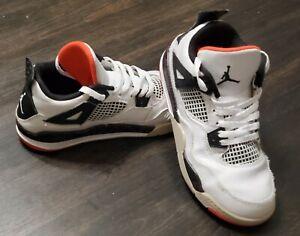 Air Jordan Retro IV 4 youth Kids BQ7669-116  Boys shoes size 1.5Y