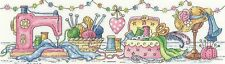 HERITAGE CRAFTS THE SEWING ROOM COUNTED CROSS STITCH KIT KAREN CARTER COLLECTION