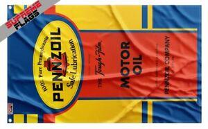 Pennzoil Vintage Flag (3x5 ft) Banner
