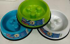 TRIXIE Slow Feed antiscivolo ciotola cane Puppy Large-pubblicato oggi se pagato prima delle 13