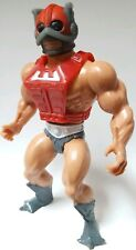 MOTU Zodac Vintage figure with Red Chest Armor Zodiac incomplete