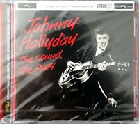 CD ALBUM JOHNNY HALLYDAY THE SOUND , THE FURY RARE NEUF SOUS BLISTER 2014