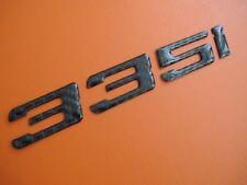 Real Carbon Fiber Trunk Letters Emblem Badge for BMW 335i E21 E30 E36 E90 F30
