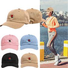 Embroidery Cotton Baseball Cap Boys Girls Snapback Sport Sun Hip Hop Flat Hat